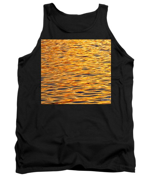 Ocean Sunset Tank Top by Carol F Austin