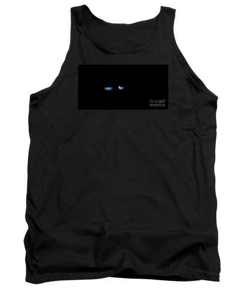 October 2014 Partial Solar Eclipse Tank Top by Angela J Wright