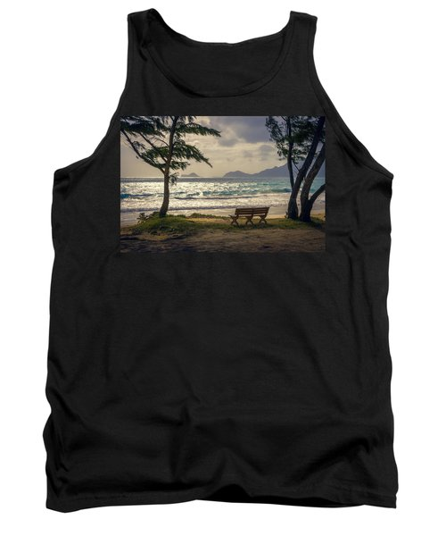 Tank Top featuring the photograph Oahu Sunrise by Steven Sparks
