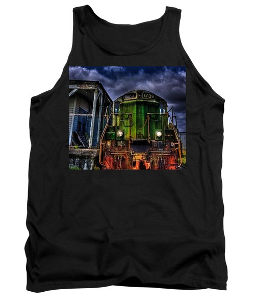 Tank Top featuring the photograph Old 6139 Locomotive by Thom Zehrfeld