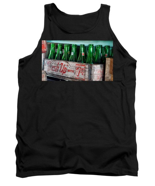 Old 7 Up Bottles Tank Top by Thomas Woolworth