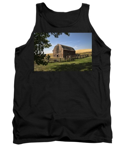 Old Barn On The Palouse Tank Top