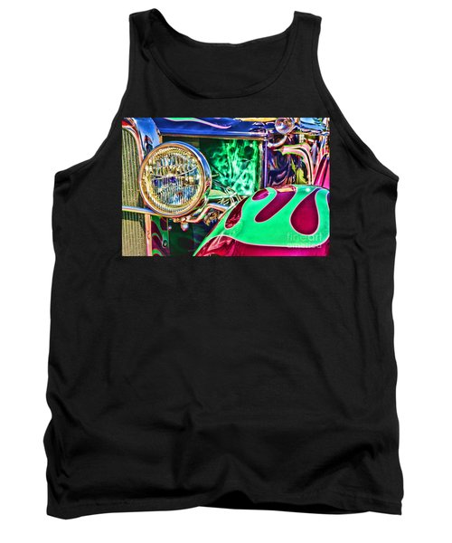 Old Betty Ford Vintage Car By Diana Sainz Tank Top