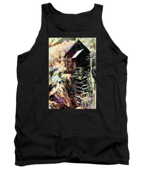 Old Crystal Mill Crystal Colorado Tank Top by Paula Ayers