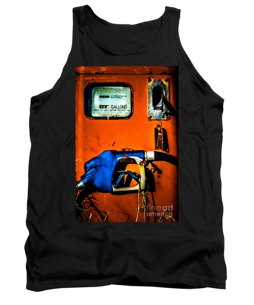 Old Farm Gas Pump Tank Top