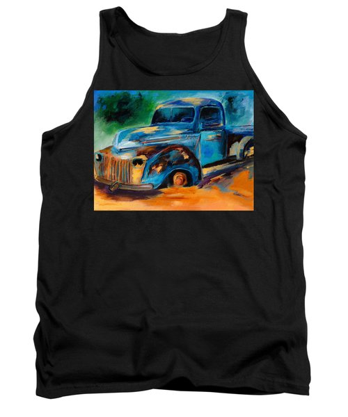 Old Ford In The Back Of The Field Tank Top
