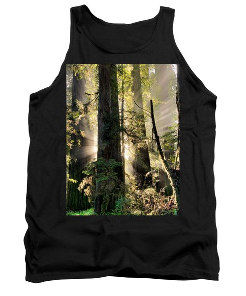 Old Growth Forest Light Tank Top