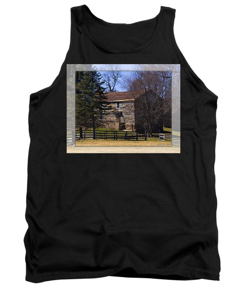 Old Log Home Tank Top