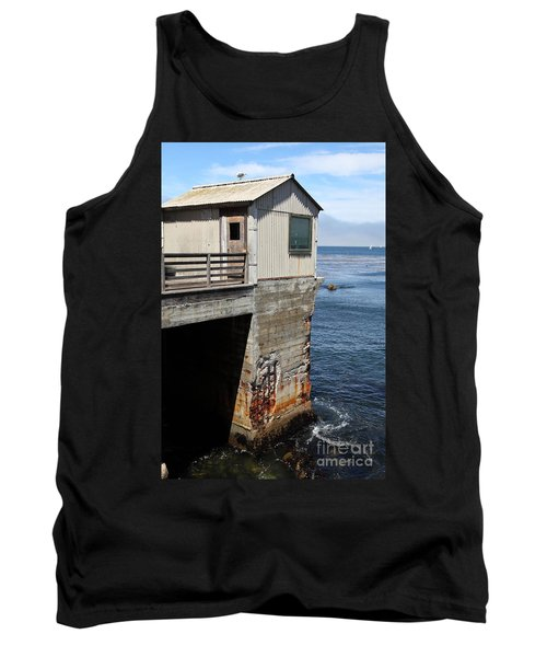 Old Shack Overlooking The Monterey Bay In Monterey Cannery Row California 5d25062 Tank Top