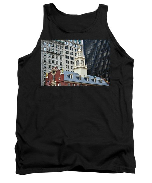 Old State House Boston Ma Tank Top