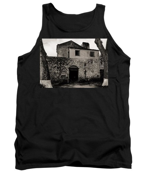 Old Stone House And Wall  Tank Top