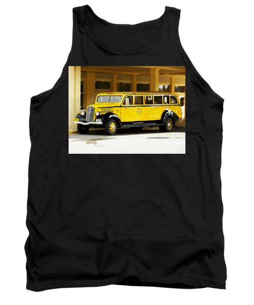 Old Time Yellowstone Bus Tank Top