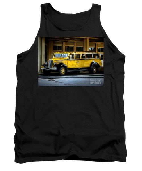 Old Time Yellowstone Bus II Tank Top