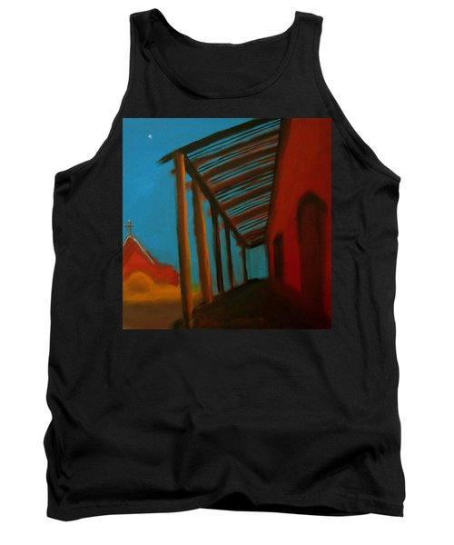 Tank Top featuring the painting Old Town by Keith Thue