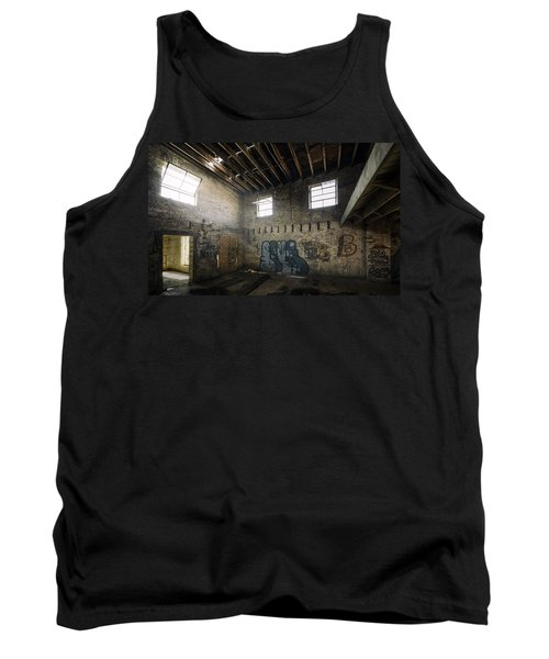 Old Warehouse Interior Tank Top by Scott Norris