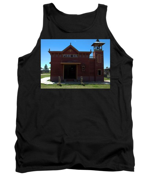 Old West Fire Station Tank Top
