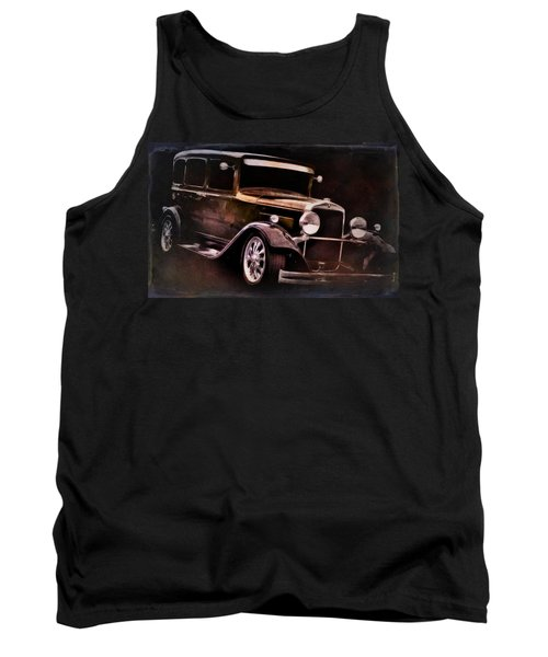 Classic Car Tank Top featuring the photograph Oldie by Aaron Berg