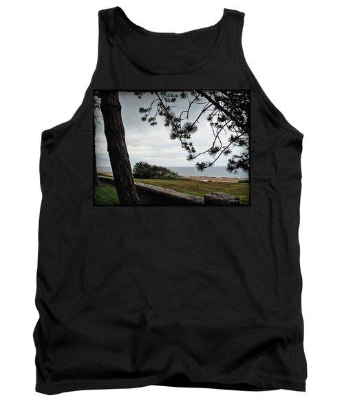Omaha Beach Under Trees Tank Top