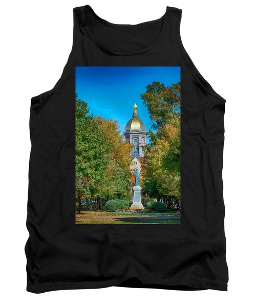 On The Campus Of The University Of Notre Dame Tank Top
