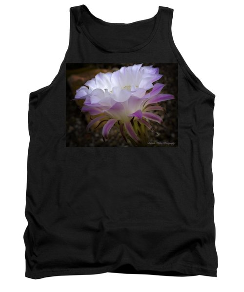 Tank Top featuring the photograph On The Edge by Lucinda Walter