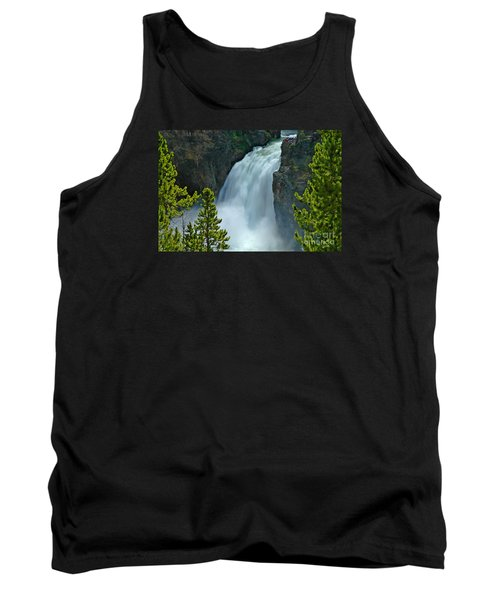 Tank Top featuring the photograph On The Edge by Nick  Boren