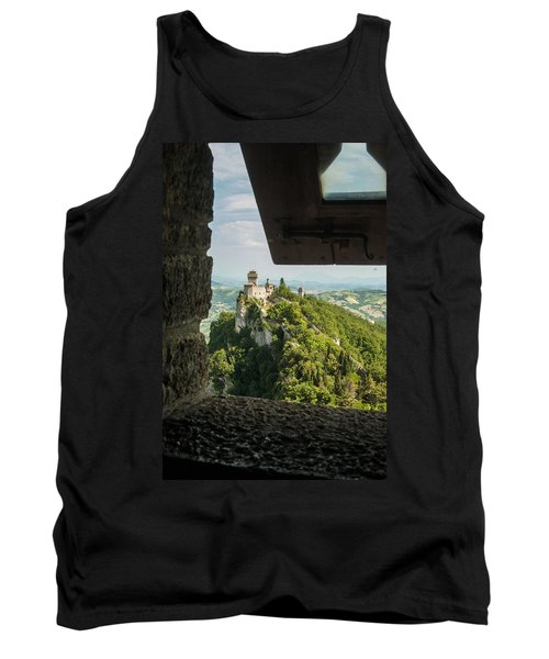 On The Inside Tank Top by Alex Lapidus
