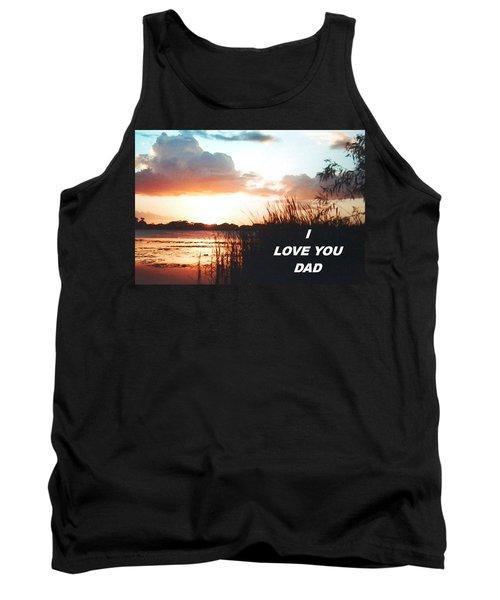 Lake Deer At Sunrise Tank Top