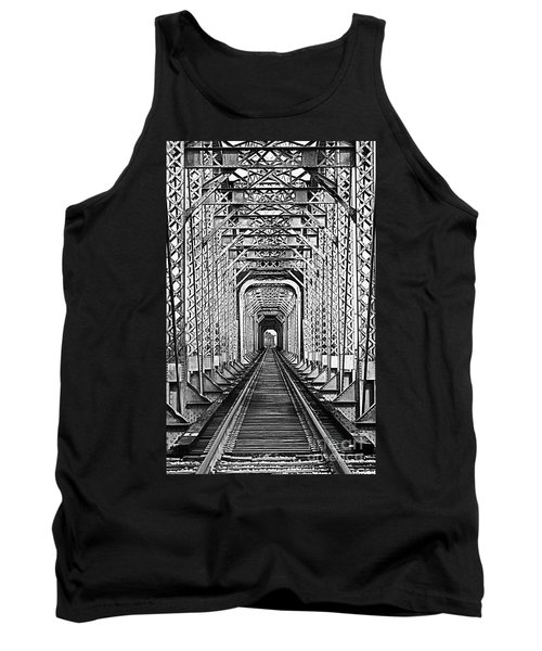 On The Right Track Tank Top by Barbara Chichester