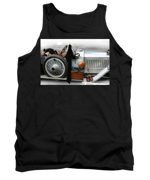 Tank Top featuring the photograph On The Road by Leena Pekkalainen