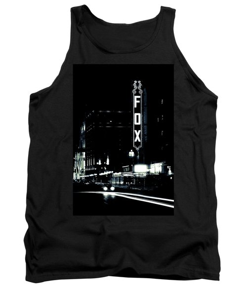On The Town Tank Top by Scott Rackers