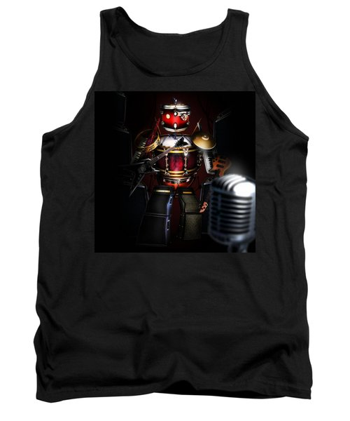 One Man Band Tank Top