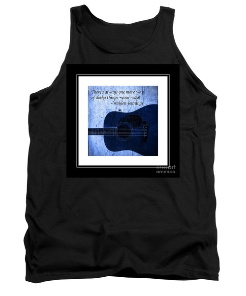 One More Way - Waylon Jennings Tank Top