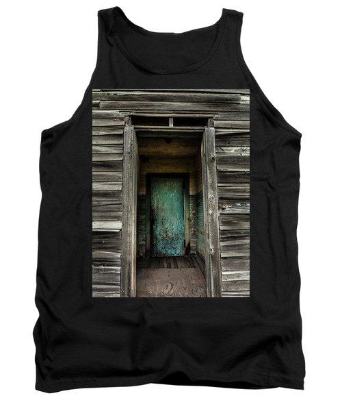 One Room Schoolhouse Door - Damascus - Pennsylvania Tank Top