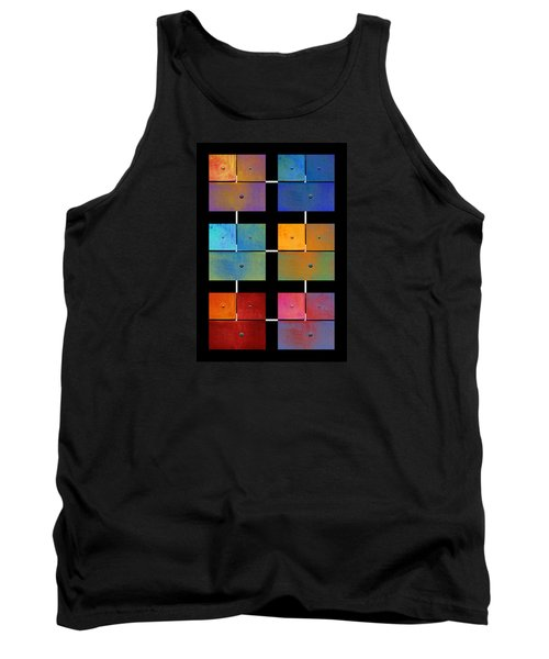 One To Eighteen - Colorful Rust - All Colors Tank Top