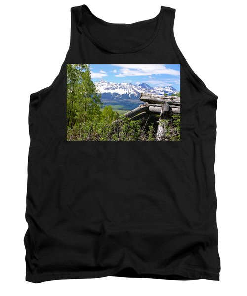 Only The Structures Crumble Tank Top