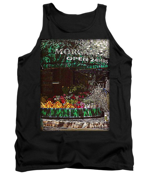 Tank Top featuring the photograph Open 24 Hours by Miriam Danar