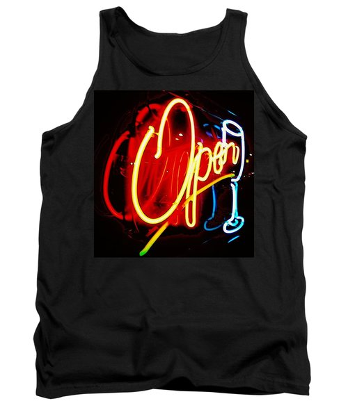 Tank Top featuring the photograph Open by Daniel Thompson