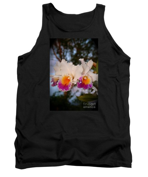 Orchid Elsie Sloan Tank Top by The Art of Alice Terrill