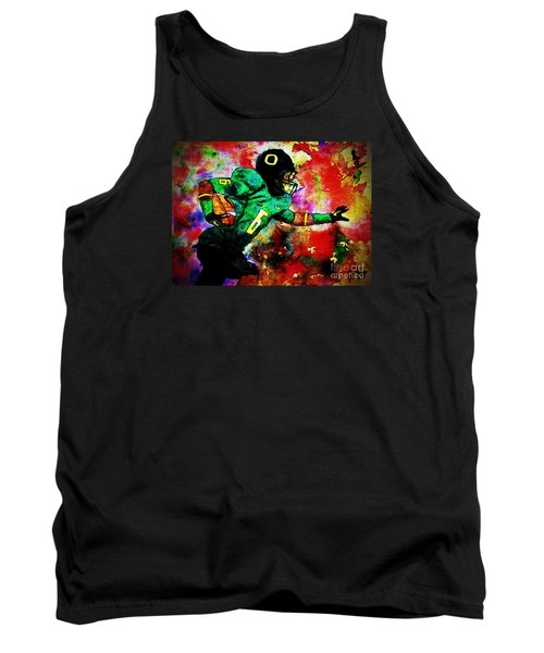 Oregon Football 3 Tank Top by Michael Cross