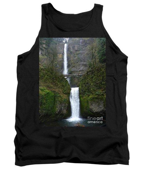Oregon Long Shot Of  Falls Tank Top