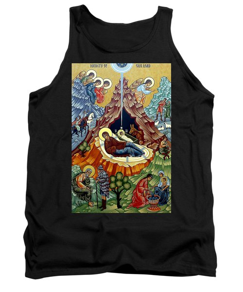 Orthodox Nativity Of Christ Tank Top by Munir Alawi