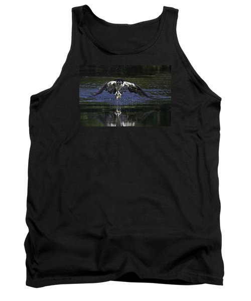 Tank Top featuring the photograph Osprey Bird Of Prey by David Lester