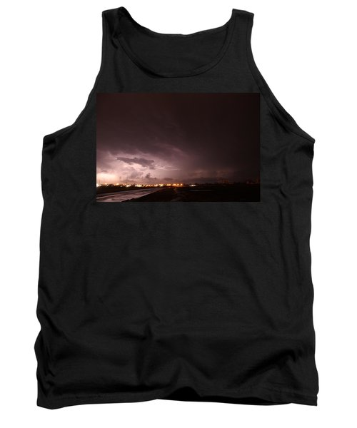 Our 1st Severe Thunderstorms In South Central Nebraska Tank Top