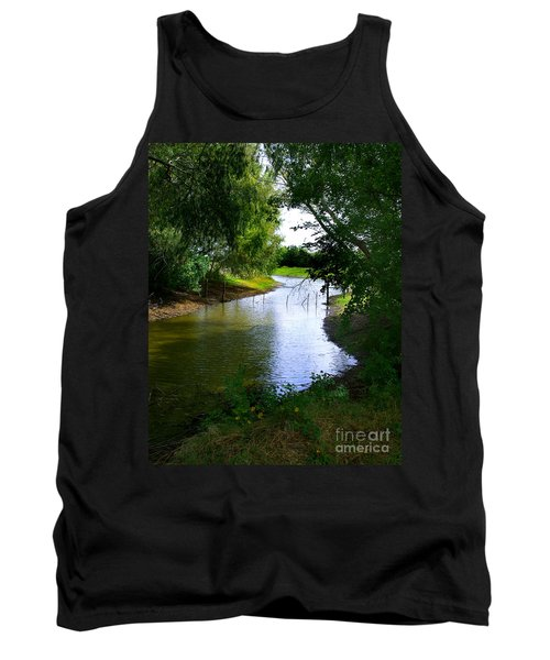 Our Fishing Hole Tank Top by Peter Piatt