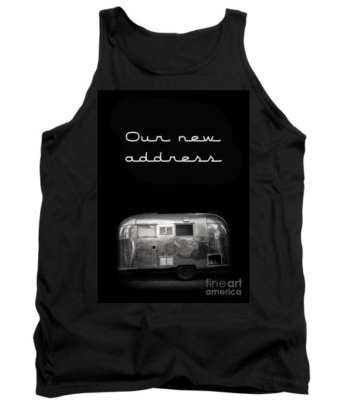 Our New Address Announcement Card Tank Top