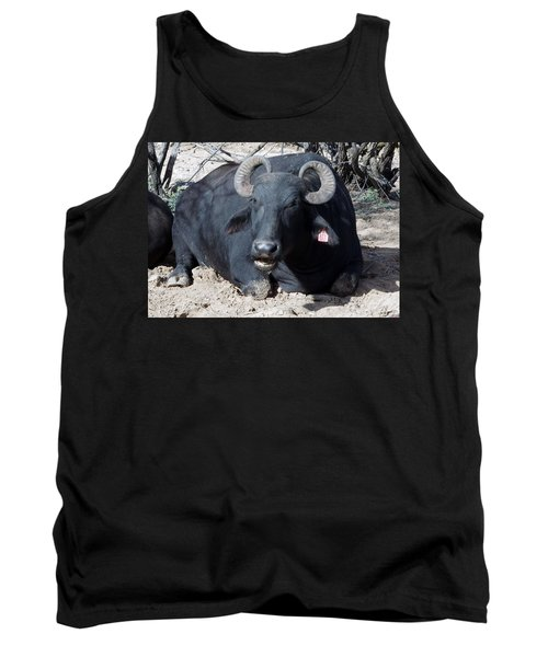 Out Of Africa  Water Buffalo Tank Top