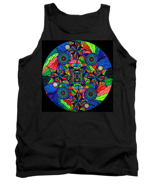 Out Of Body Activation Grid Tank Top