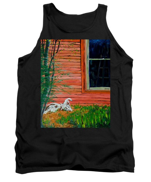 Outside The Artist's Studio Tank Top