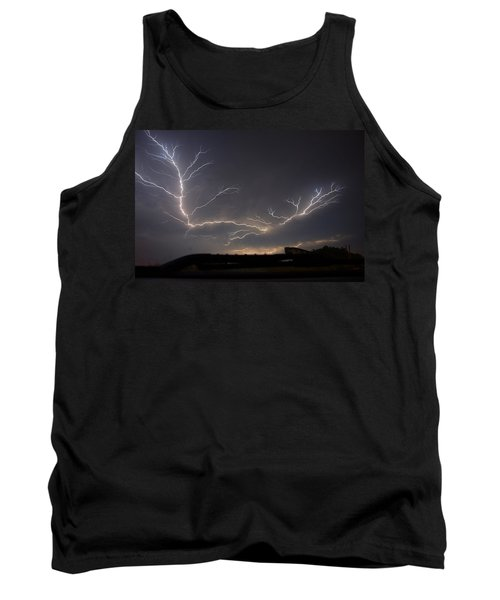 Tank Top featuring the photograph Over The Lake by Charlotte Schafer
