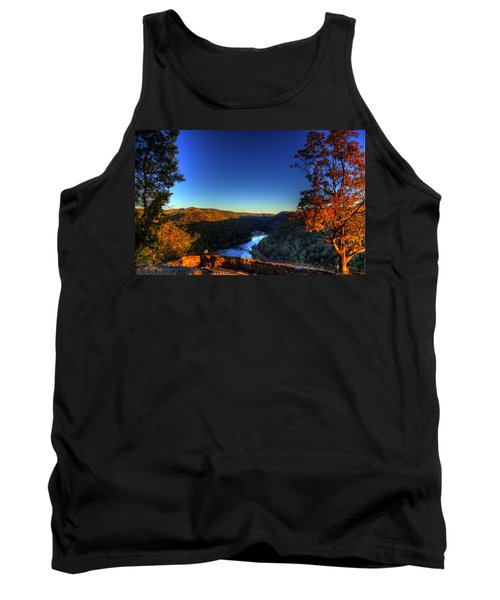 Tank Top featuring the photograph Overlook In The Fall by Jonny D